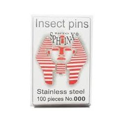 Agulles entomològiques 0.45x38 mm (2). Bossa 100 peces