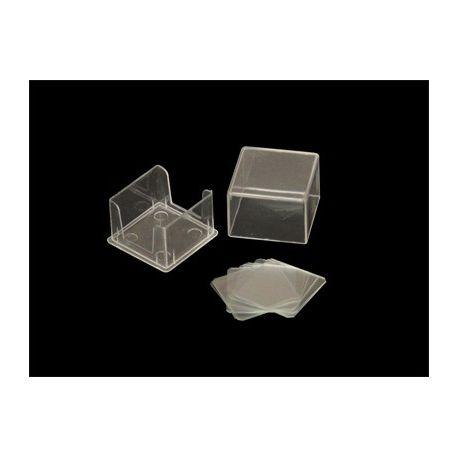 Cobrecàmeres recompte quadrats 22x22 mm. Capsa 10 unitats