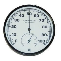 Higròmetre bimetàl·lic Herter 3421. Carcassa plàstic 130 mm