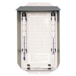 Psicròmetre termomètric Herter 4006. Escala 0 a 50 gC en 0'5 gC