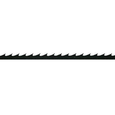 Sierras marquetería planas dientes continuas 130 mm número 4.