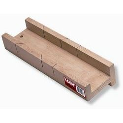 Escuadra madera dos paredes con guía. Medidas 350x75 mm
