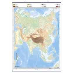 Mapa mural mut retolable 1000x1300 mm. Àsia