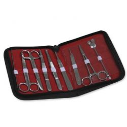 Equip dissecció Bàsic Nahita ED-09. Estoig doble 9 peces