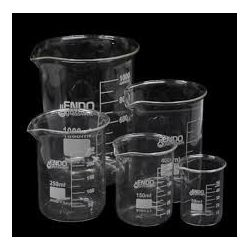 Vasos precipitados vidrio Endo 50 ml. Caja 12 unidades