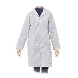 Bata laboratorio ropa algodón 100%. Mujer talla L