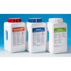 Absorbent vessaments específic àcids Pyracidosorb CR-0411. Flascó 5 kg