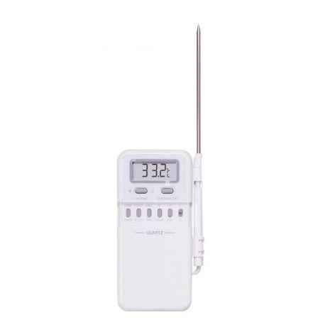 Termòmetre digital contacte Herter 5987. Sonda cable -50...300