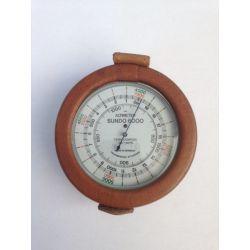 Altímetre analògic Sundo-6000. Escala 0-6000 m en 10 m
