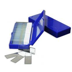 Preparaciones microscópicas petrográficas. Caja 8 piezas