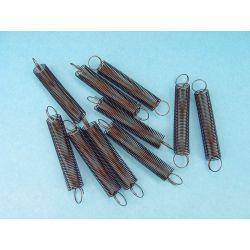 Molles helicoïdals elasticitat 10 N/m V-11337. Capsa 10 unitats