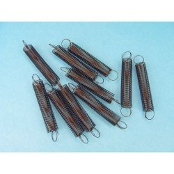 Molles helicoïdals elasticitat 20 N/m V-11339. Capsa 100 unitats
