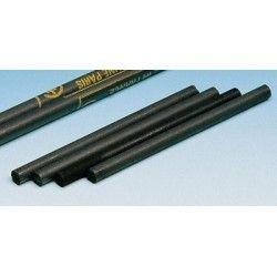 Elèctrode grafit (C). Barreta cilíndrica 6x200 mm