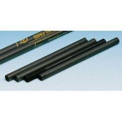 Electrodo grafito (C). Barrita cilíndrica 6x200 mm