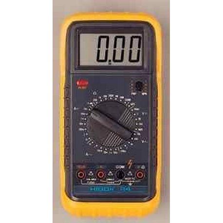 Multímetre digital Hibok-60. VCA-VCC-ACC-OHM-hFE