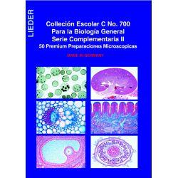 Preparacions microscòpiques Lieder. Biologia general C. Capsa 50 peces