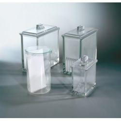 Cubeta cromatografía Miltiplak 200x200 mm. Capacidad 5 placas