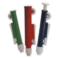 Aspirador pipetas Comp-pip verde. Pipetas hasta 10 ml