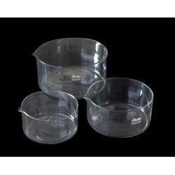 Cristalizador vidrio borosilicato con pico. Tamaño 50x100 mm