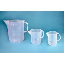 Gerra plàstic PP mesurada forma baixa. Capacitat 250 ml