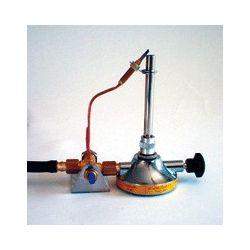 Bec gas Bunsen seguretat 11 mm amb reguladors. Gas natural