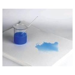 Papel absorbente con polietileno 125 g / m. Rollo 50cmx50 metros