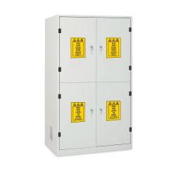 Armario seguridad 4 puertas metálicas (4C). Medidas