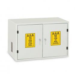 Armario seguridad 2 puertas metálicas (1C). Medidas