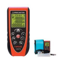 Medidor distancias láser Precaster CA-600. Alcance 70 metros