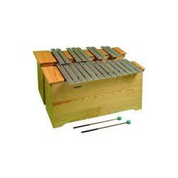 Metalófono cromático Albareda 1516. Bajo DO-LA 22 notas