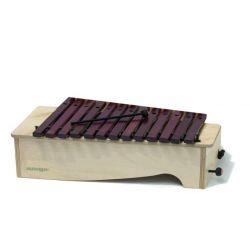 Xilófono diatónico Albareda XAD. Contralto DO-LA 16 notas