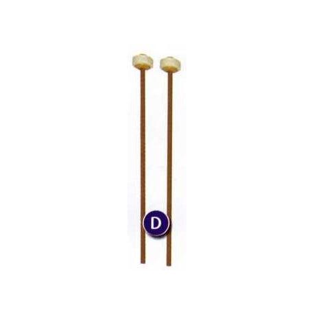 Baquetas anillo fieltro para metalófonos y xilófono contralto.