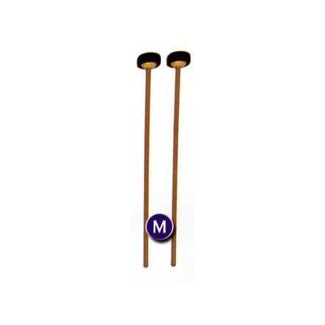 Baquetas anillo caucho para xilófono soprano. Par (M)