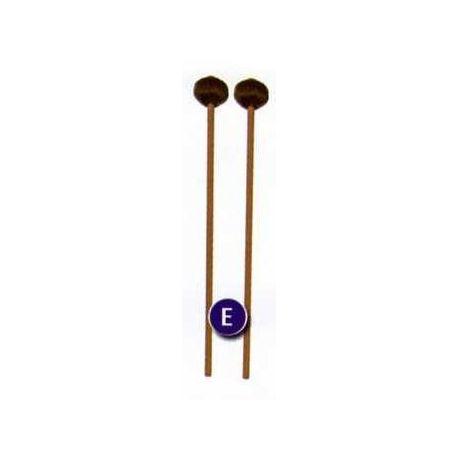 Baquetas bola lana para metalófonos y xilófonos bajos. Par (E)