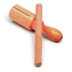 Caixa xinesa tubular un to amb batedor