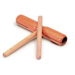 Caja china tubular dos tonos con batidor