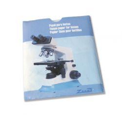Papeles limpiar lentes 110x85 mm HBR-002. Bolsa 50 unidades