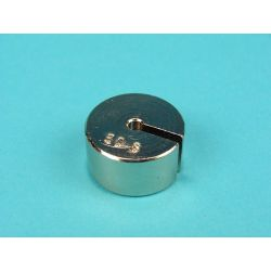 Peso ranurado portapesos V-11277. Metálico 50 g