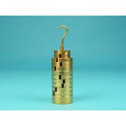 Pesos ranurados con portapesos V-11268. Juego
