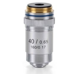 Objetivo microscopio Ecoblue EC-7040. Acromático 40x / 0.65-R