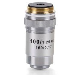 Objetivo microscopio Ecoblue EC-7000. Acromático 100x / 1.25-RI