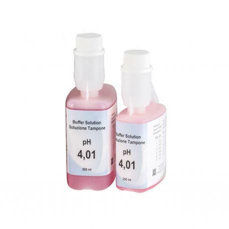 Solución calibrar tampón pH 4'00 XS-133. Frasco 500 ml