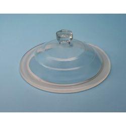 Tapa desecador vidrio Endo con pomo 200 mm. Diámetro 270 mm
