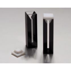 Cubetes espectrofotòmetre quars UV pas 10 mm 1'4 ml. Capsa 2