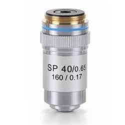 Objetivo microscopio Bioblue AE-5597. Semiplanoacromático