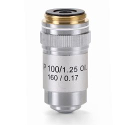 Objetivo microscopio Bioblue AE-5601. Semiplanoacromático