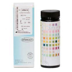 Diagnóstico clínico análisis orina Urin-10. Caja 100 tiras