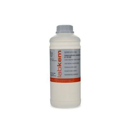 Ácido clorhídrico solución 1'0 mol / l (1'0N) CHAC-1V0. Frasco 1000 ml