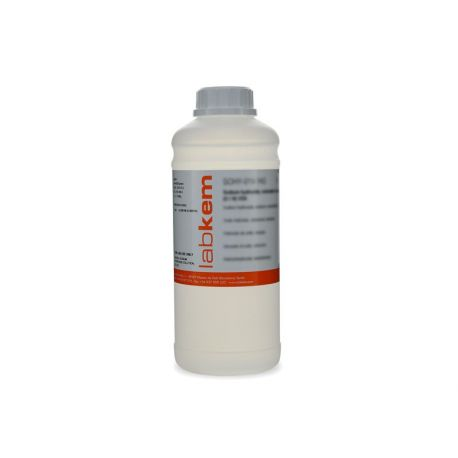 Sodio hidróxido solución 5'0 mol / l (5'0N) SOHY-5V0. Frasco 1000 ml