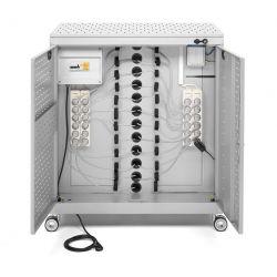 Armari carregador ordinadors SDX-1100. Capacitat 24 PCs o 36 NBs